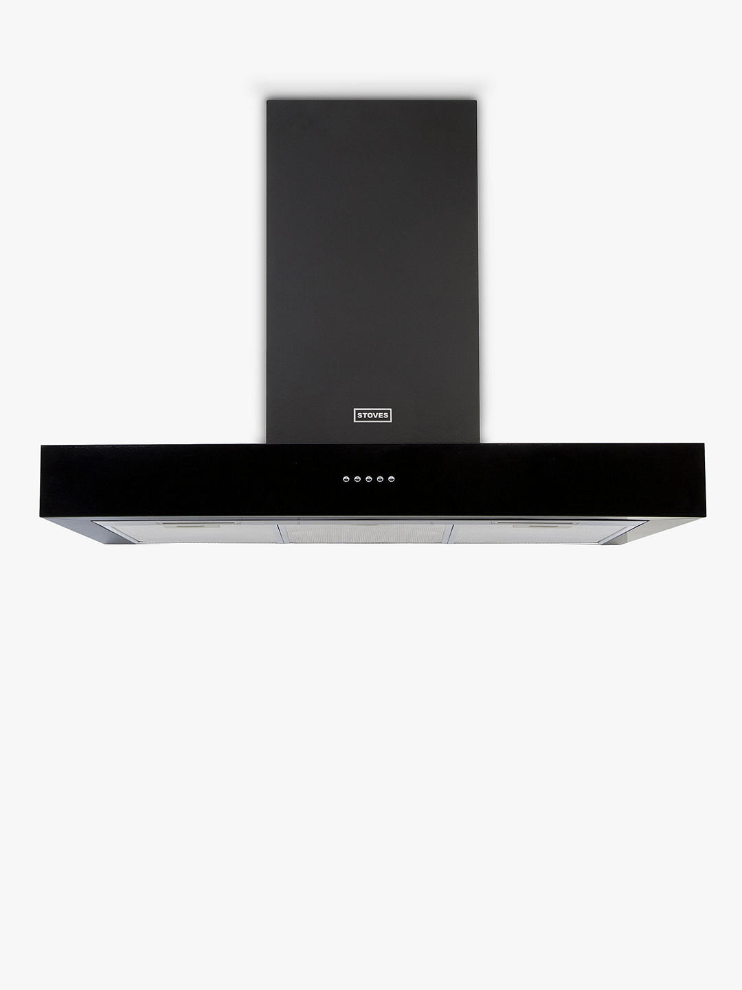Buy Stoves S900 Sterling Cooker Hood, 90cm, Black Online at johnlewis.com