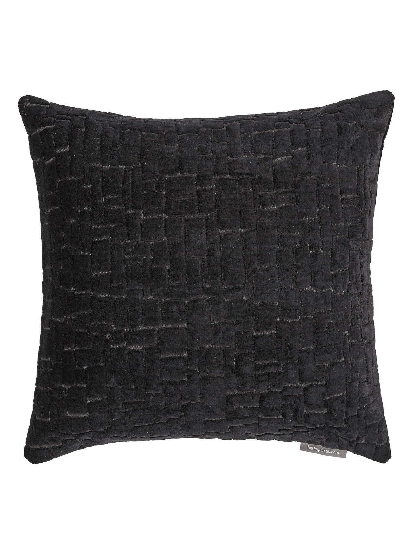 Buy Harlequin Ascent Cushion, Charcoal Online at johnlewis.com