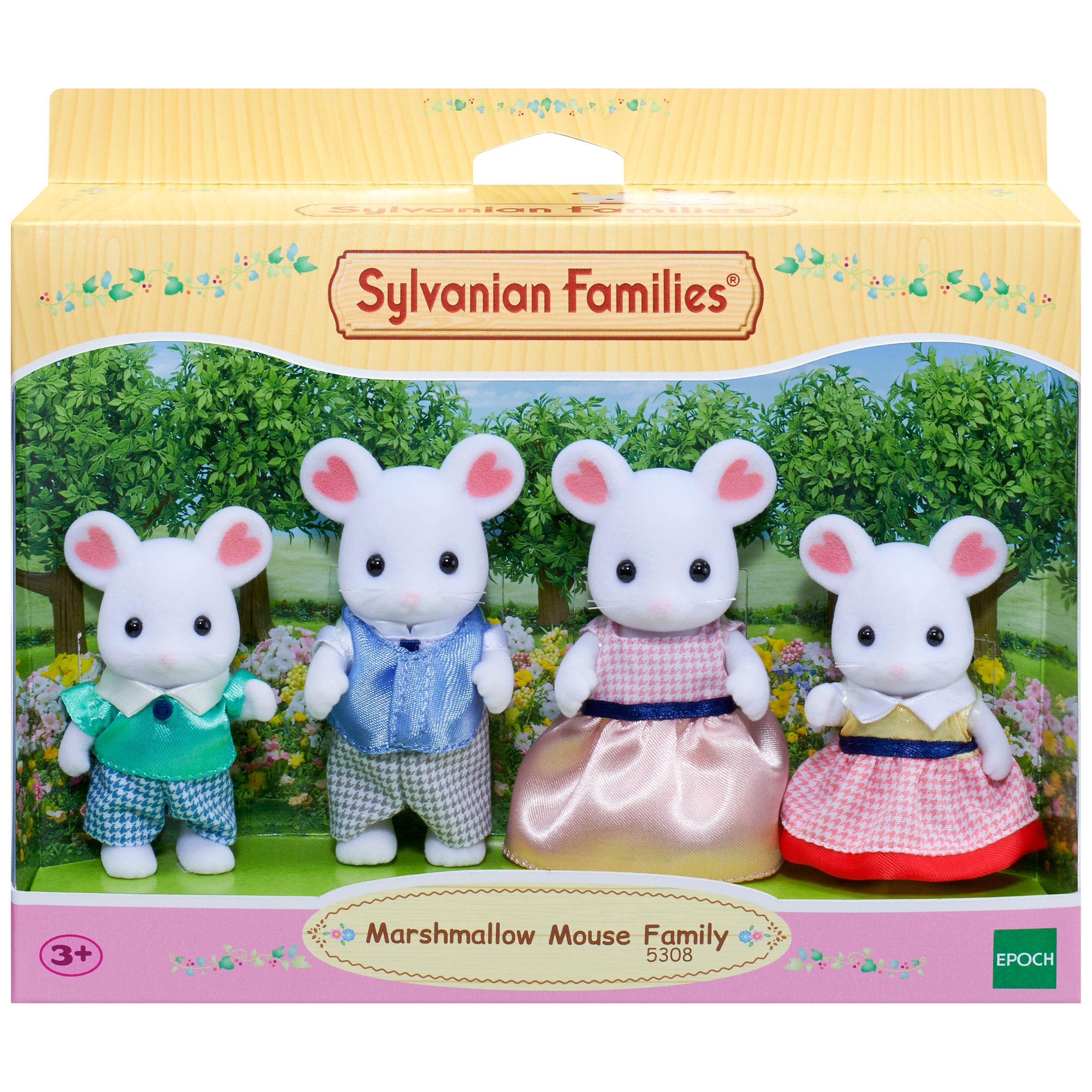 Sylvanian Families Sylvanian Families Marshmallow Mouse Family