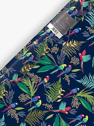 Sara Miller Parrots Wrapping Paper, 3m