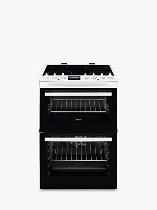 Zanussi ZCV69350 Freestanding Electric Cooker, A/A Energy Rating, 60cm Wide