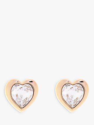 Ted Baker Han Swarovski Crystal Heart Stud Earrings