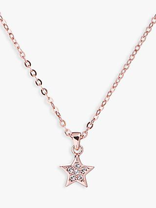 Ted Baker Saigi Swarovski Crystal Star Pendant Necklace