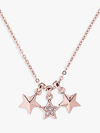 Ted Baker Shami Swarovski Crystal Triple Star Pendant Necklace