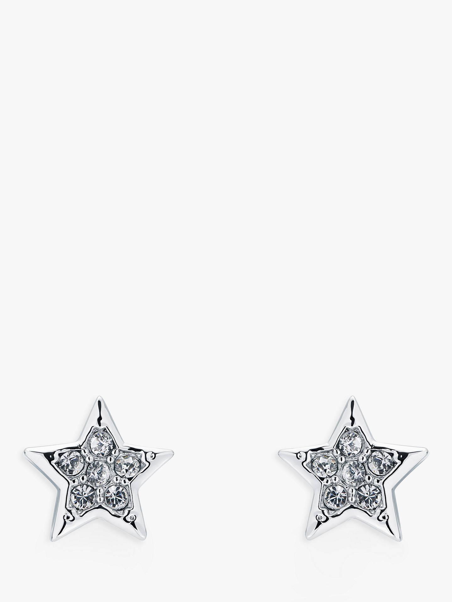 Ted Baker Safire Swarovski Crystal Star Stud Earrings at John Lewis ... 069fa1d7e7