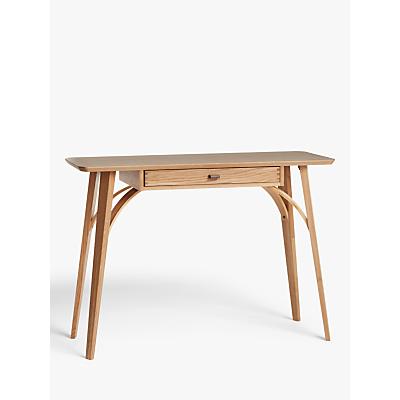 John Lewis & Partners Branch Console Table, Oak
