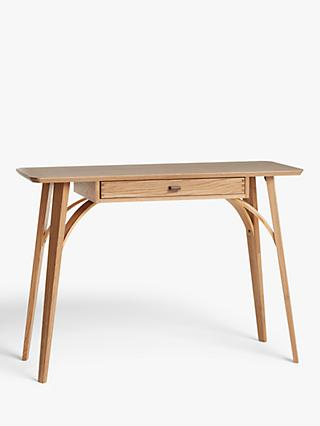 John Lewis & Partners Branch Console Table, Oak