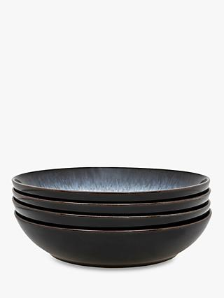 Denby Halo Pasta Bowls, Dia.22cm, Set of 4, Black