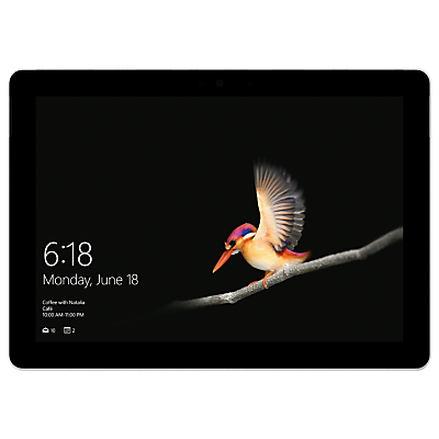 "Image of MICROSOFT 10"" Surface Go - 128 GB, Silver, Silver"