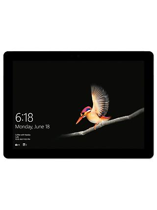 "Microsoft Surface Go, Intel Pentium Gold, 8GB RAM, 128GB SSD, 10"" PixelSense Display, Platinum"