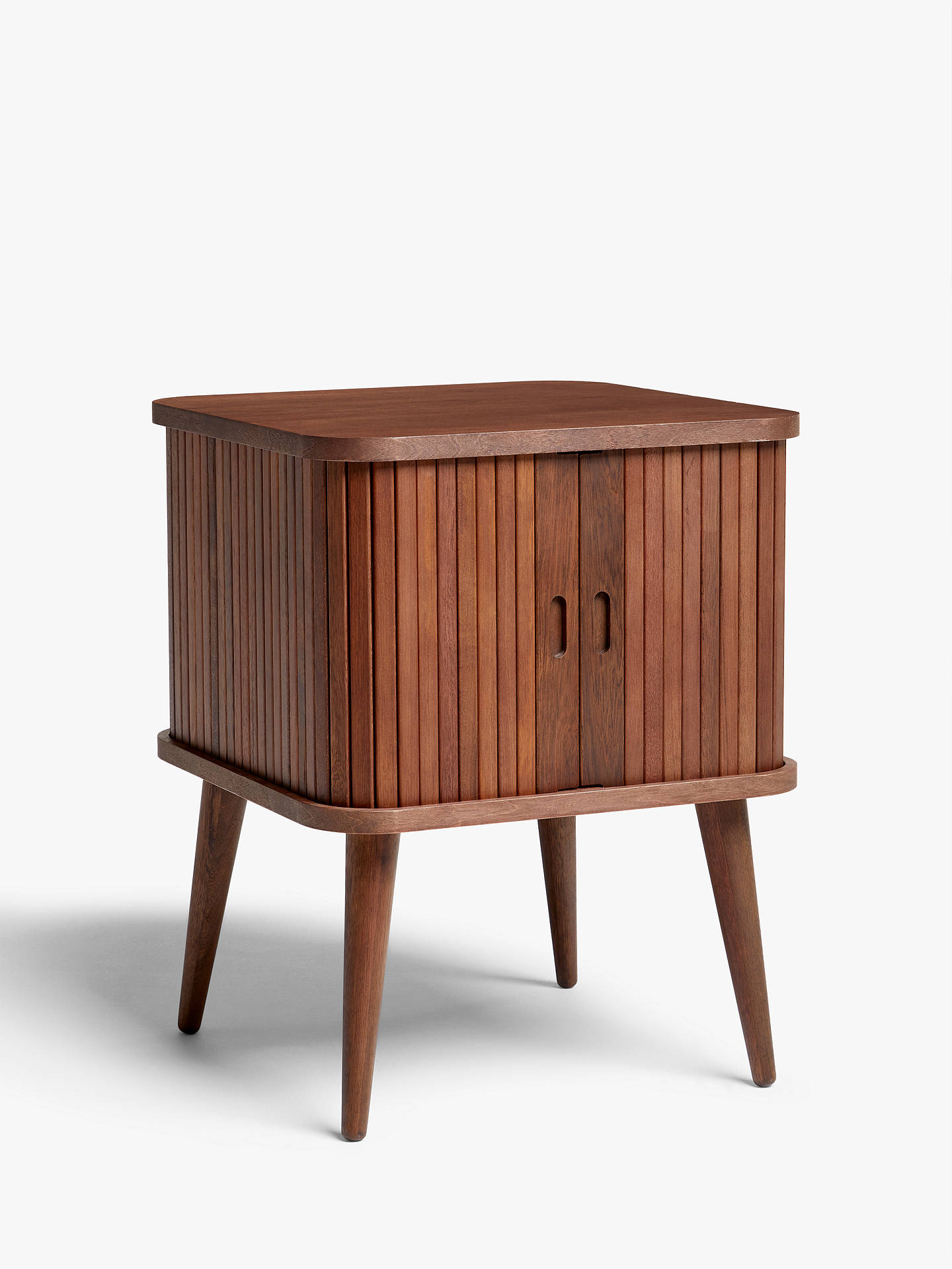 Side Table With Storage.John Lewis Partners Grayson Small Storage Side Table Walnut