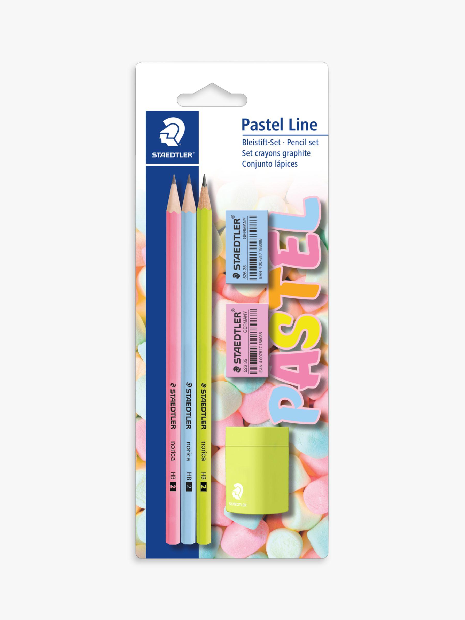 Staedtler STAEDTLER Pastel Line Pencil Set, 3HB