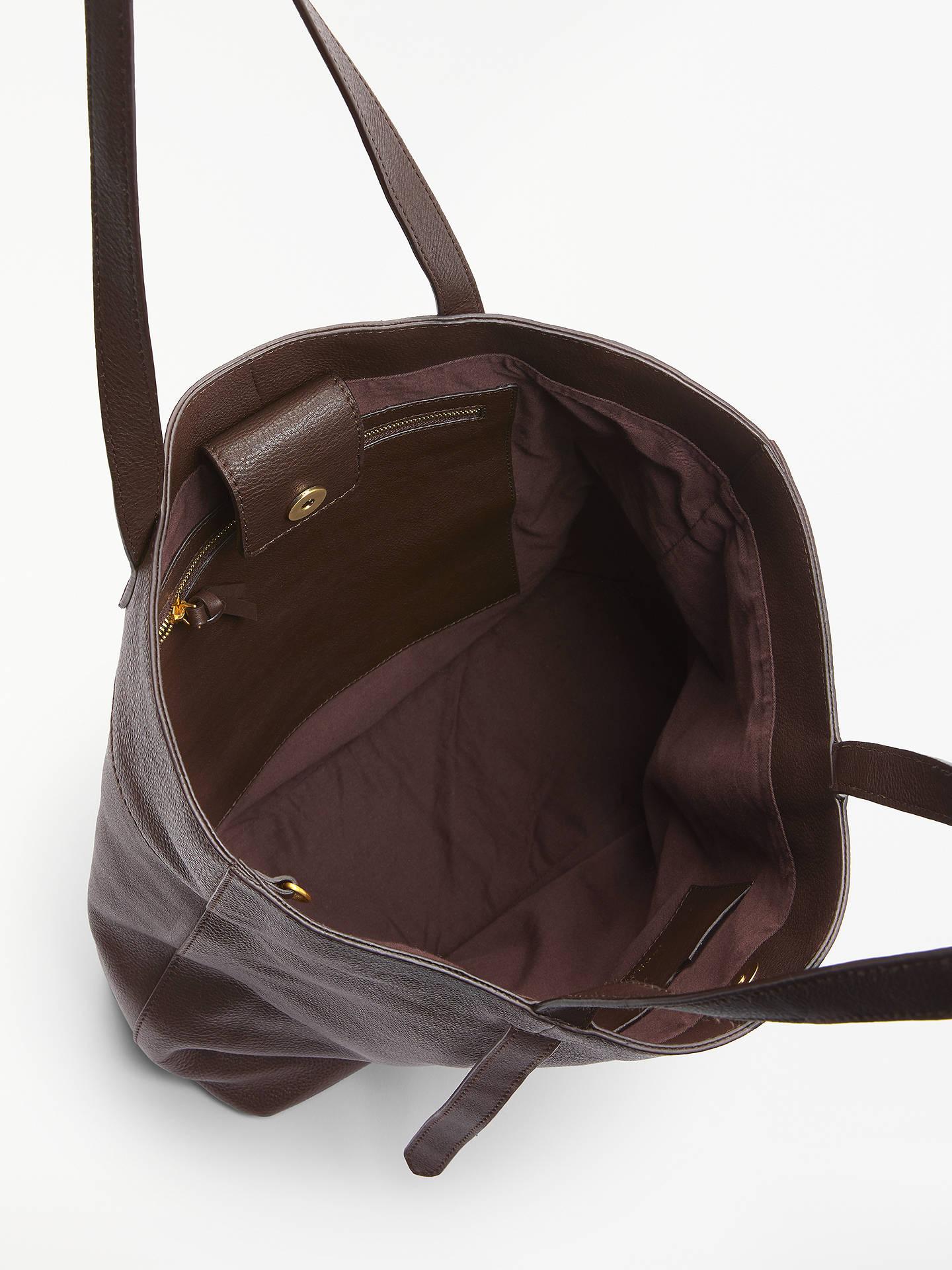 305cbf1c22c8 John Lewis   Partners Cecilia Leather North South Tote Bag at John ...