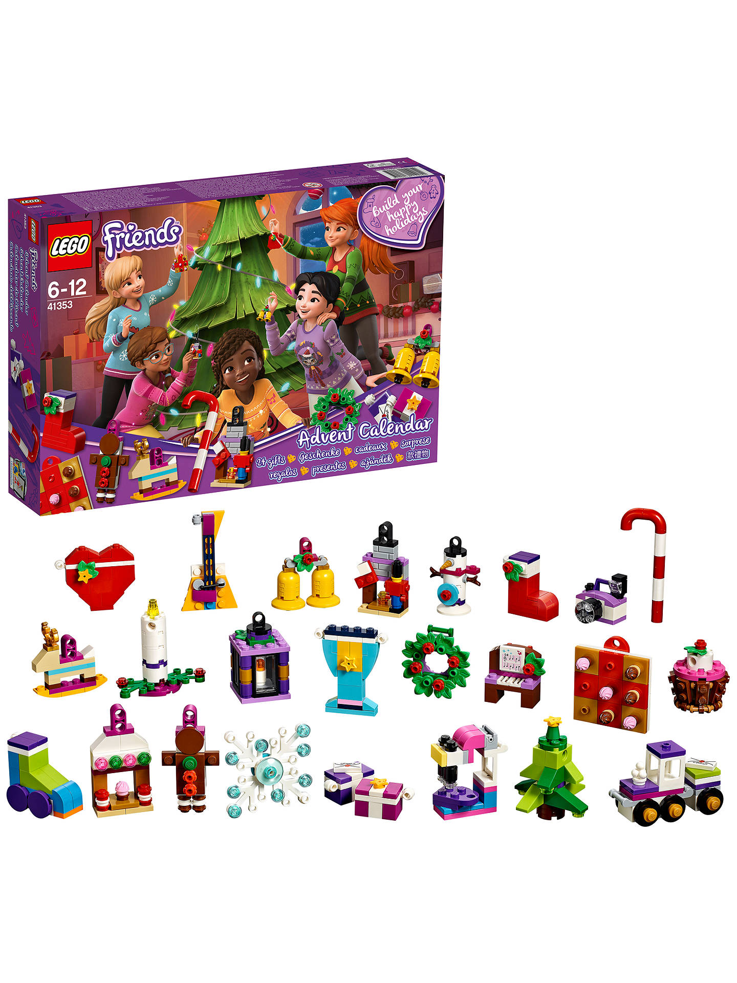BuyLEGO Friends 41353 Advent Calendar Online at johnlewis.com