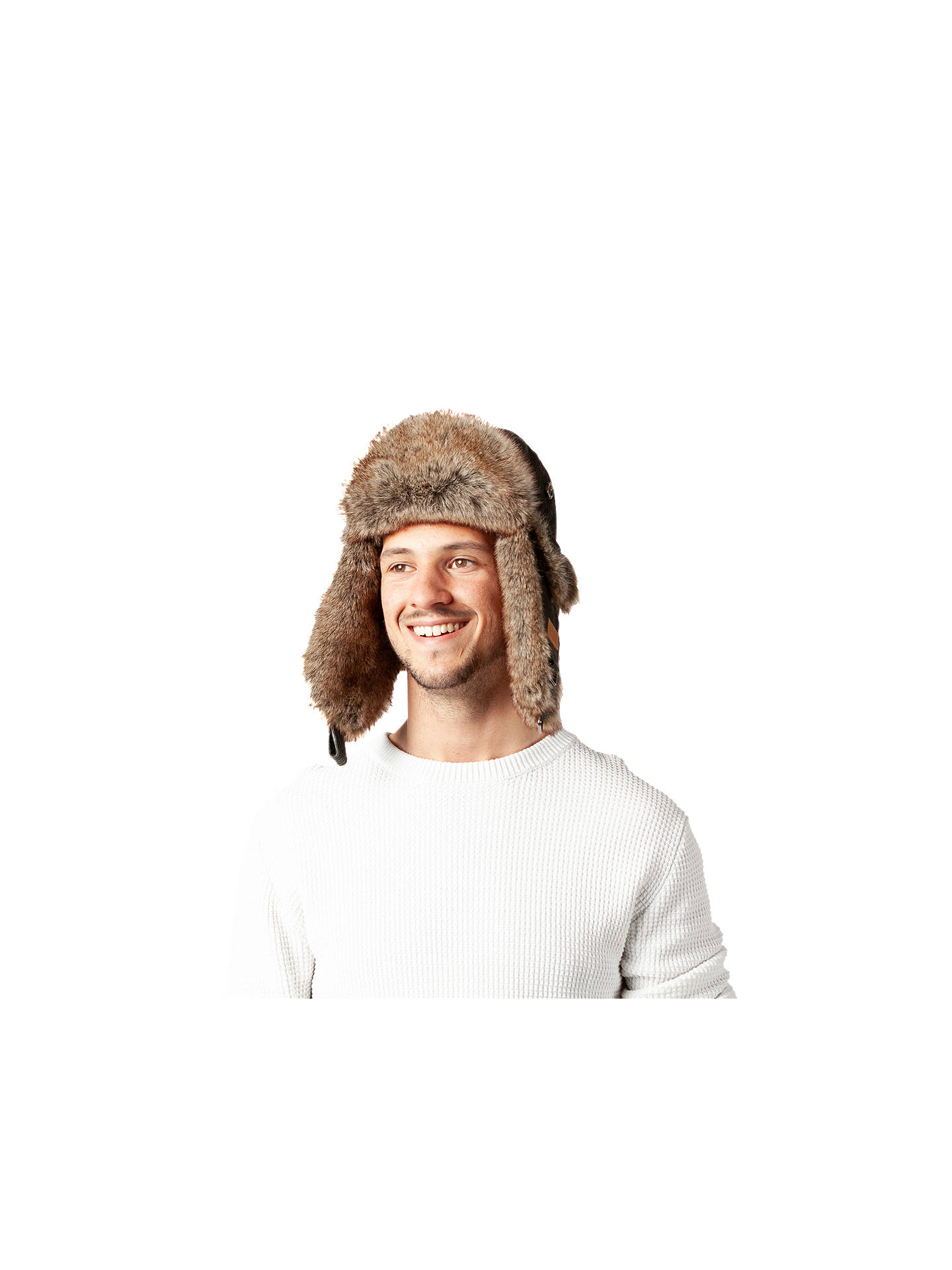 BuyBarts Rib Bomber Hat, Army Green Online at johnlewis.com
