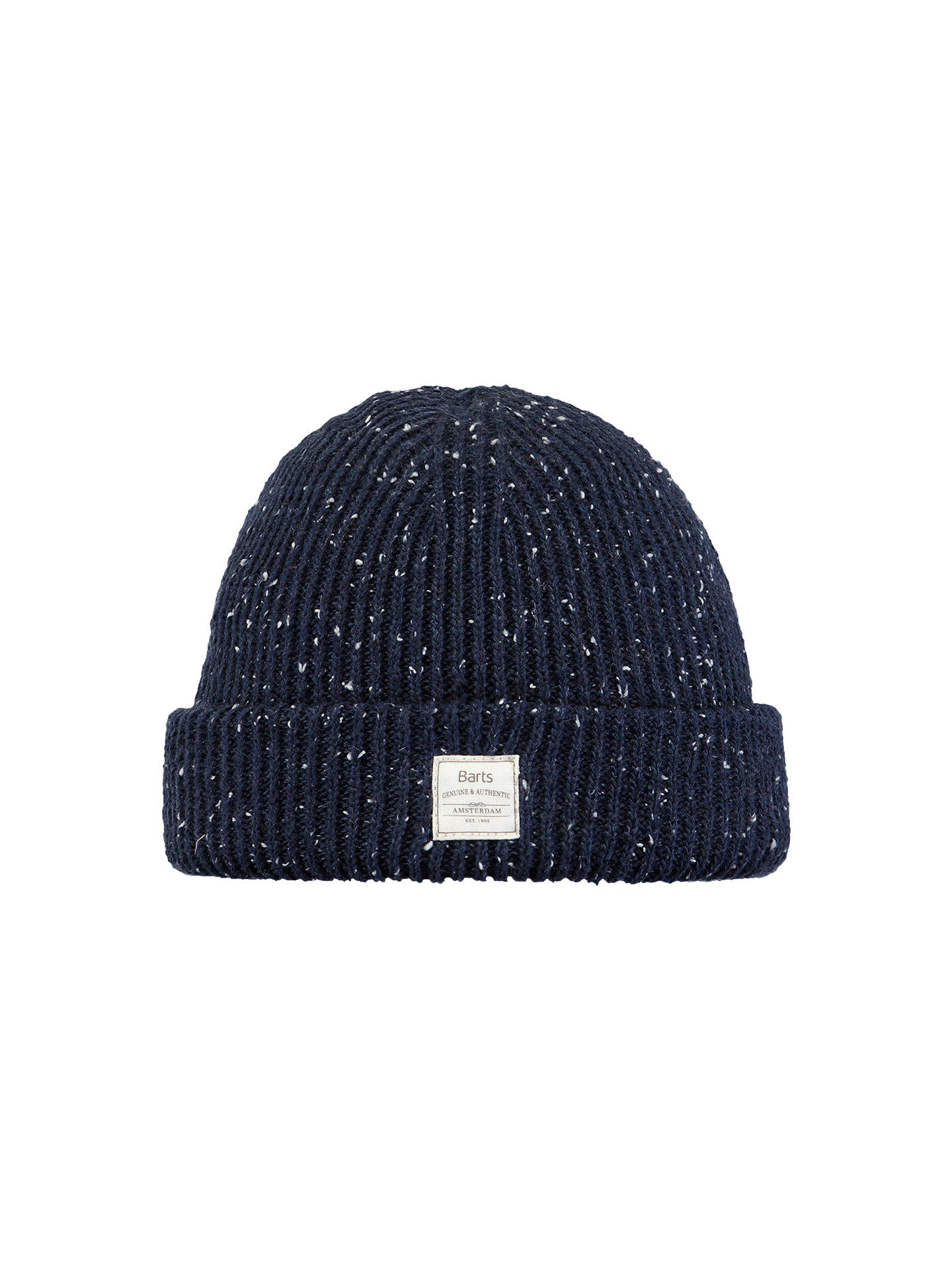 BuyBarts Atlas Beanie, One Size, Navy Blue Online at johnlewis.com