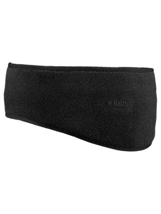 Barts Fleece Headband, Black