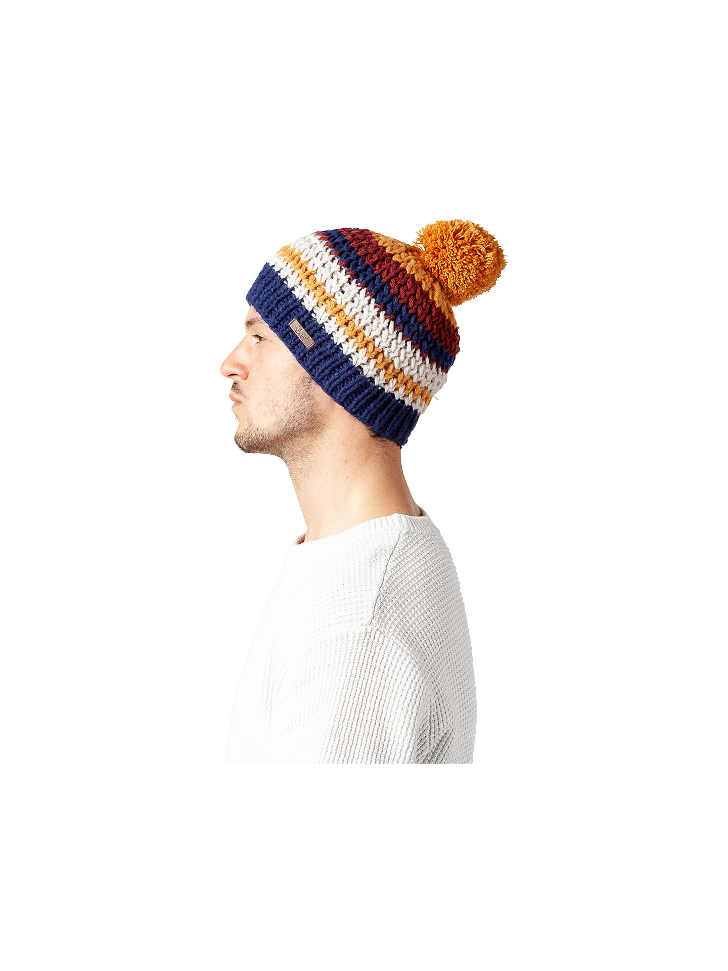 Buy Barts Crow Beanie, One Size, Ochre Online at johnlewis.com