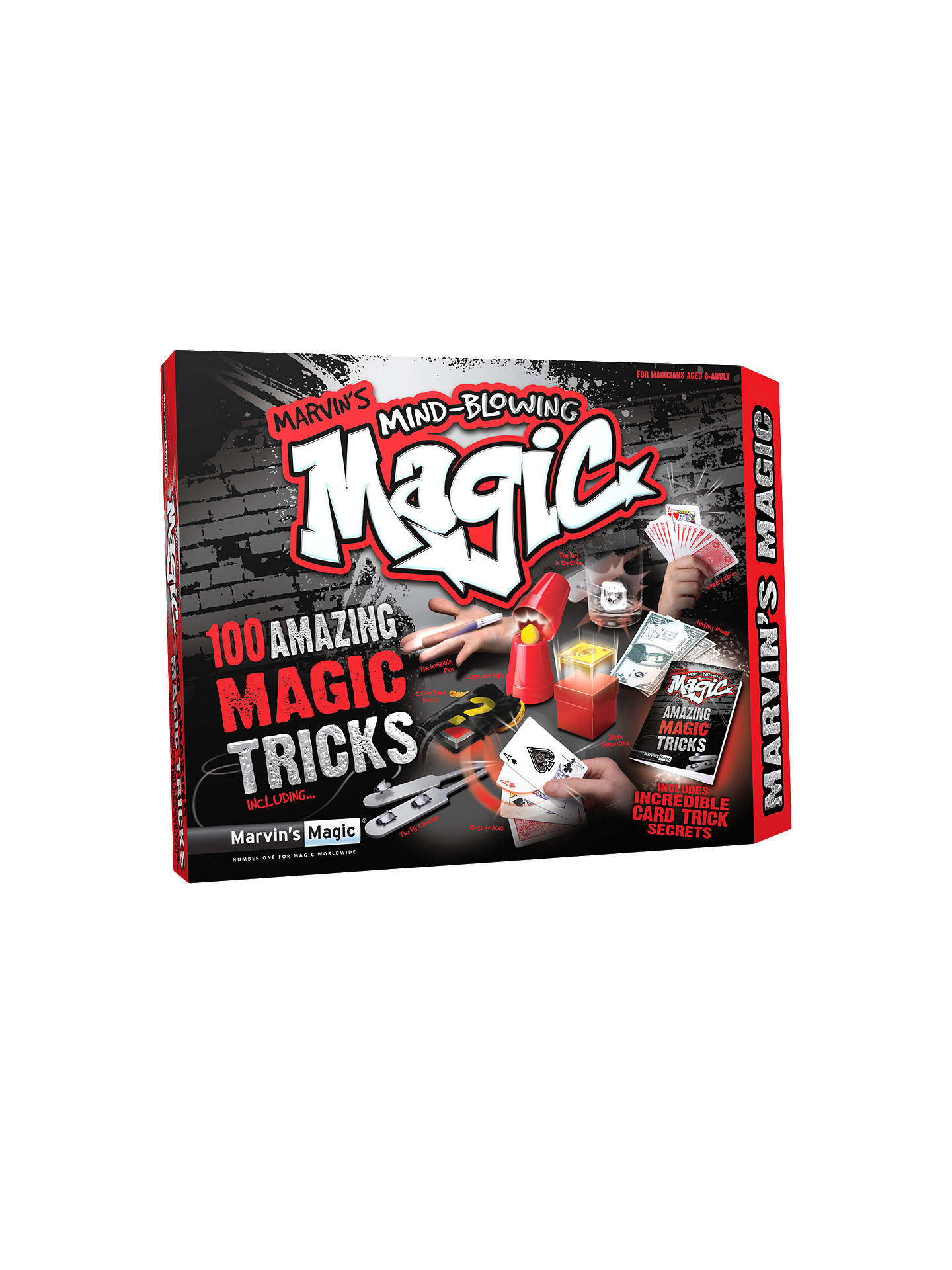marvin's magic mind blowing magic box at john lewis & partners