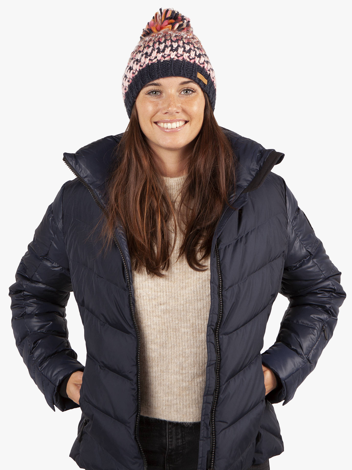 BuyBarts Nicole Beanie, One Size, Navy Online at johnlewis.com