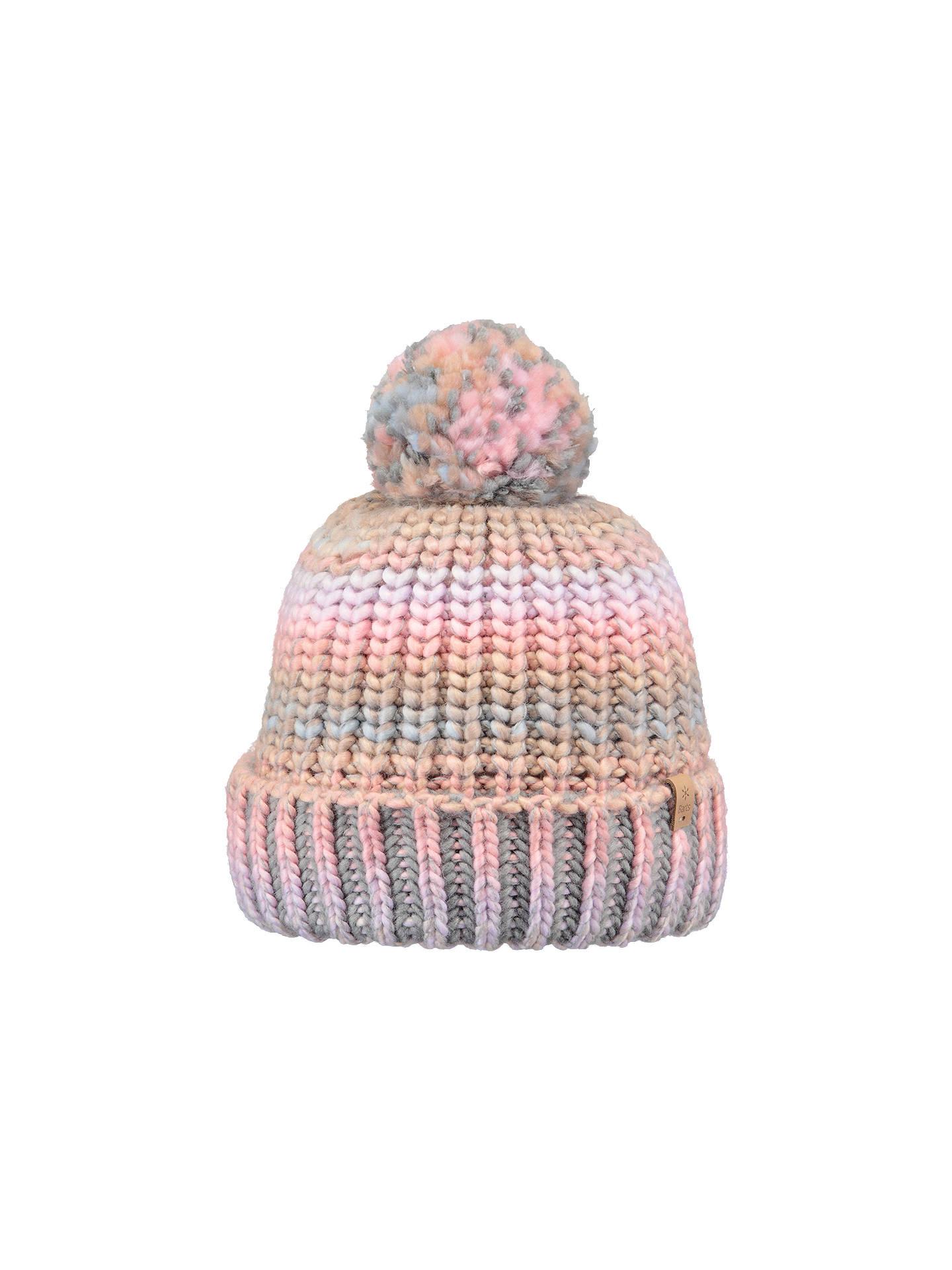 2a3ed1f82 Barts Jevon Chunky Pom Pom Beanie Hat, Pink