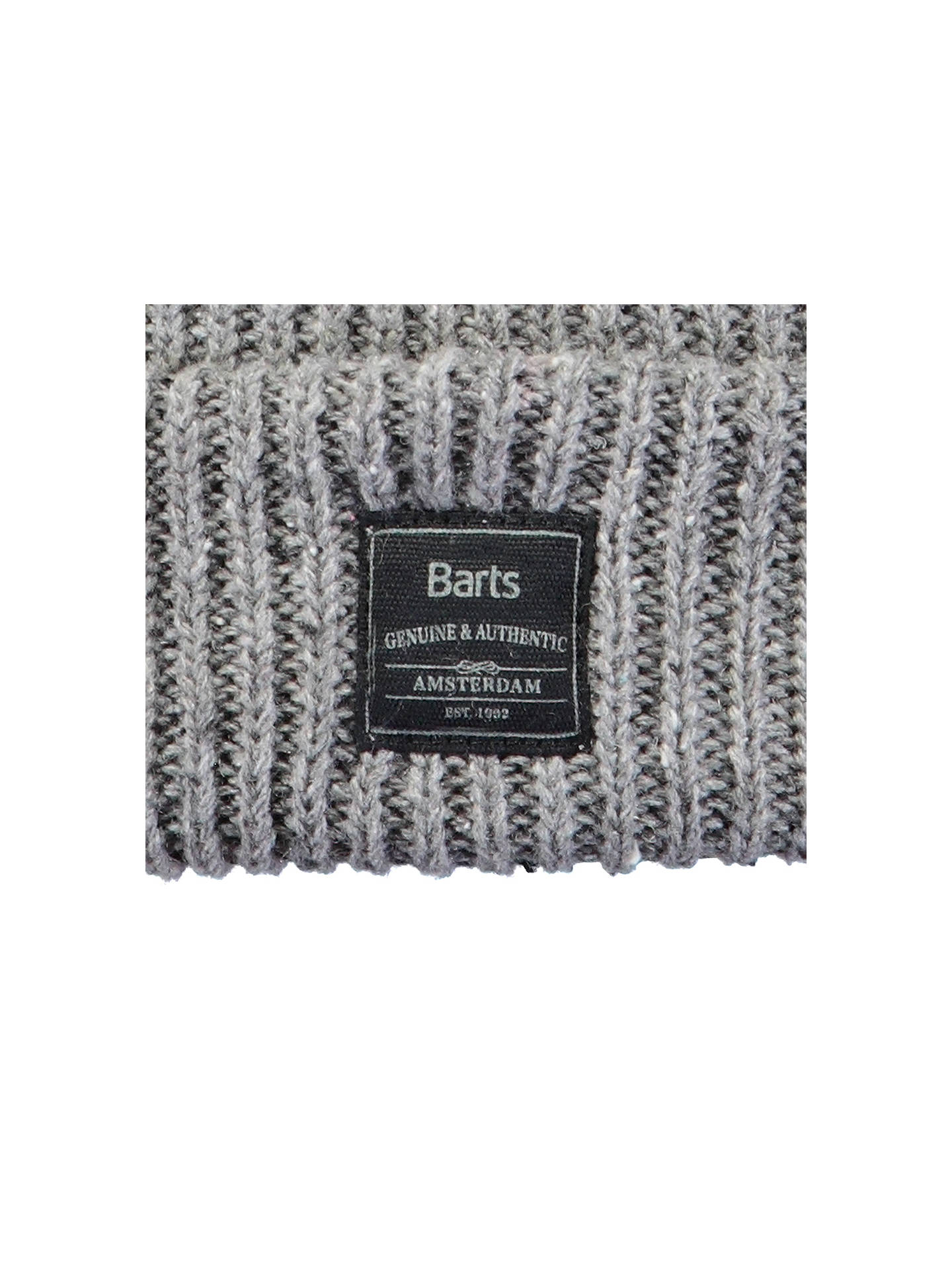 BuyBarts Atlas Beanie, One Size, Heather Grey Online at johnlewis.com