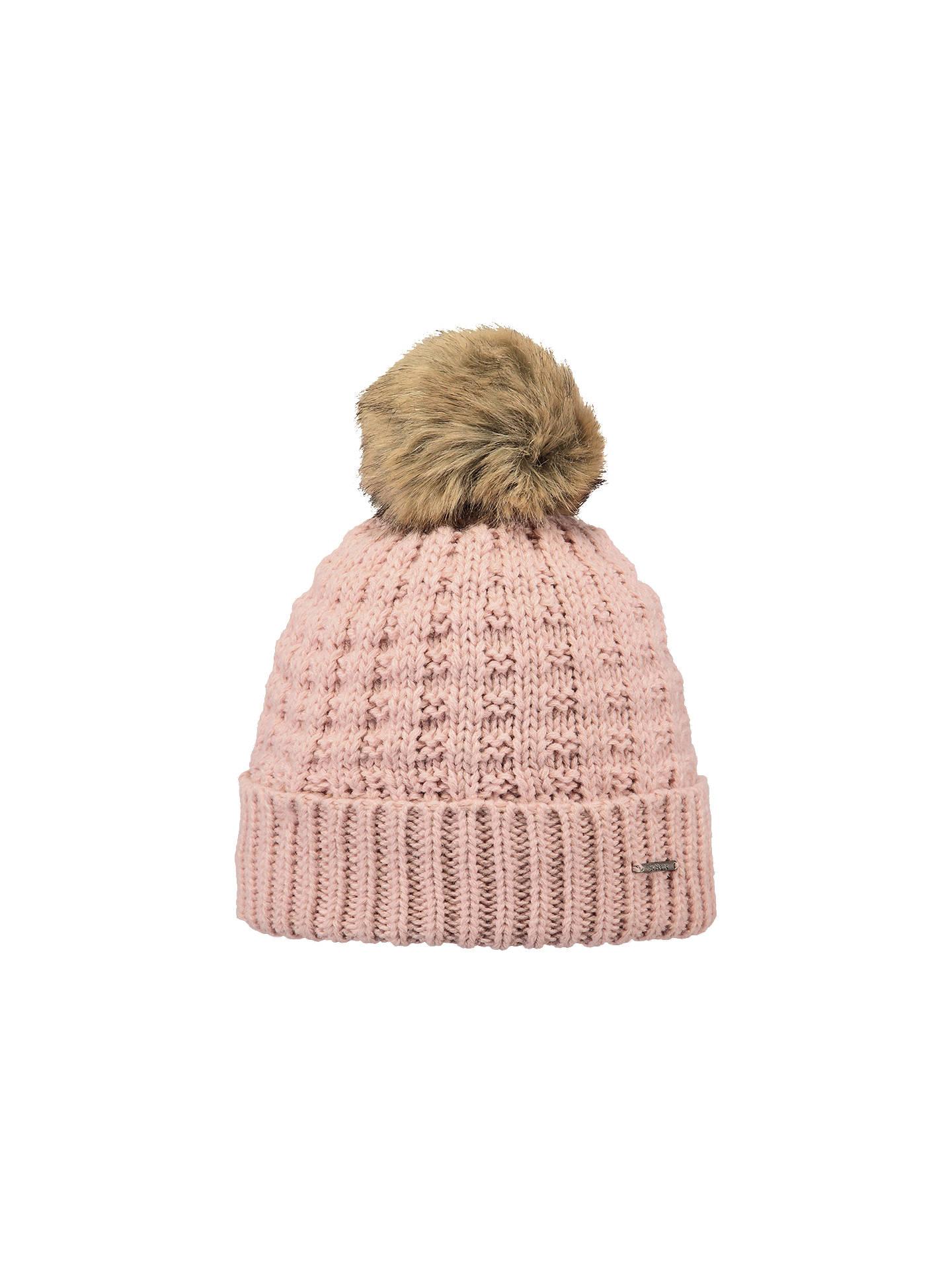 d9f29ee4e Barts Filippa Pom Pom Beanie Hat, Pink