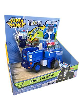 Super Wings Transforming Paul's Cruiser