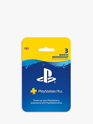 PlayStation Plus, 3 Months Subscription