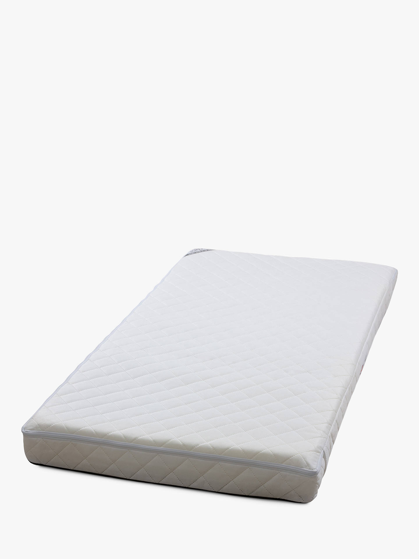 Buy Silver Cross Superior True Fit TM Cotbed Mattress, 140cm x 70cm Online at johnlewis.com