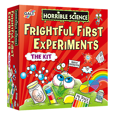 Image of Galt Toys - Horrible Science Frightful First Experiment Kit