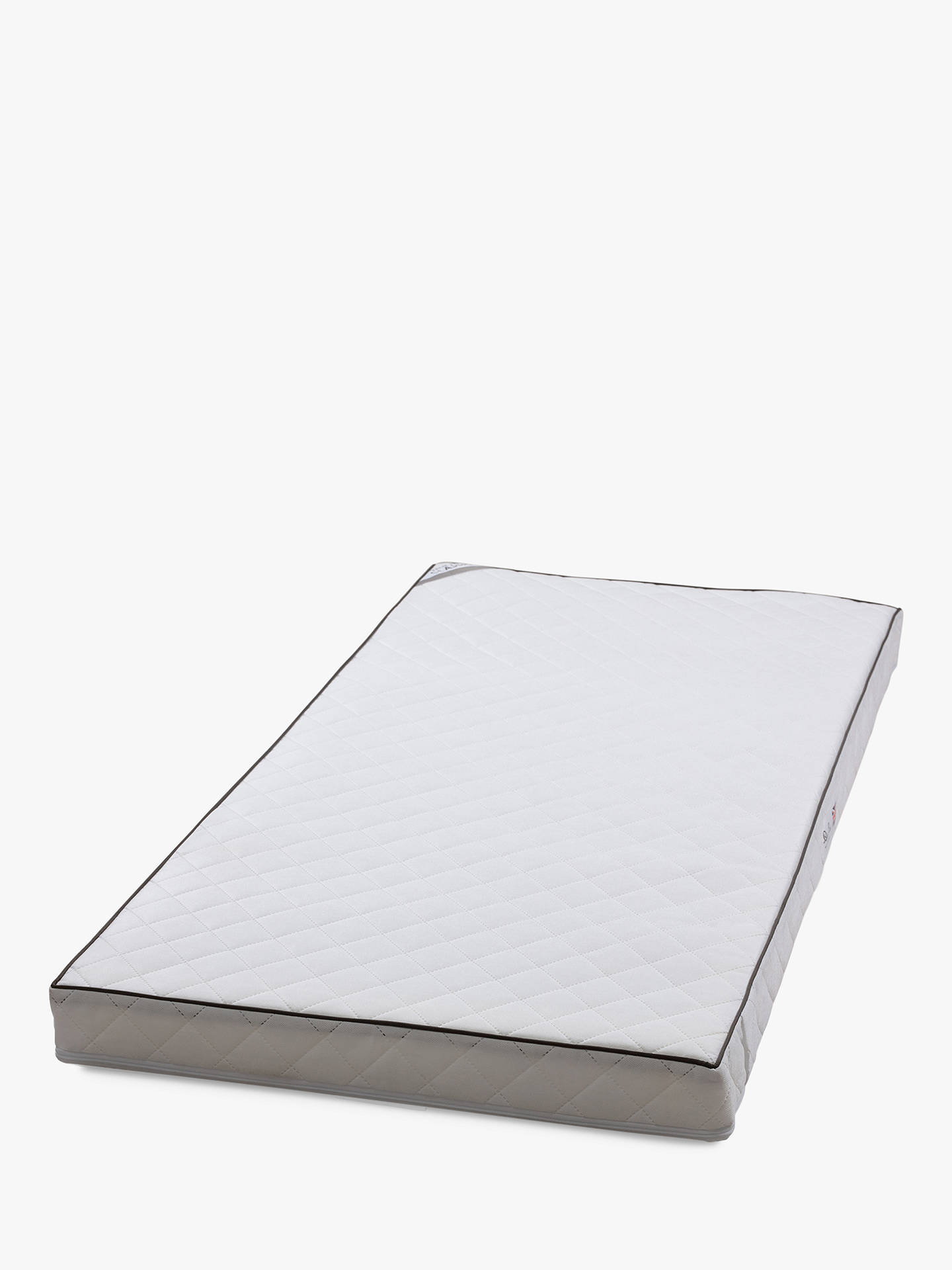 BuySilver Cross Classic True Fit TM Cotbed Mattress, 140cm x 70cm Online at johnlewis.com