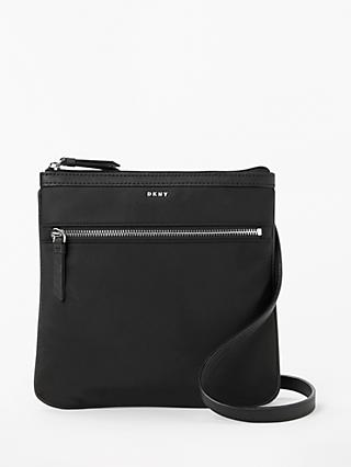 Dkny Casey Zip Top Cross Body Bag Black