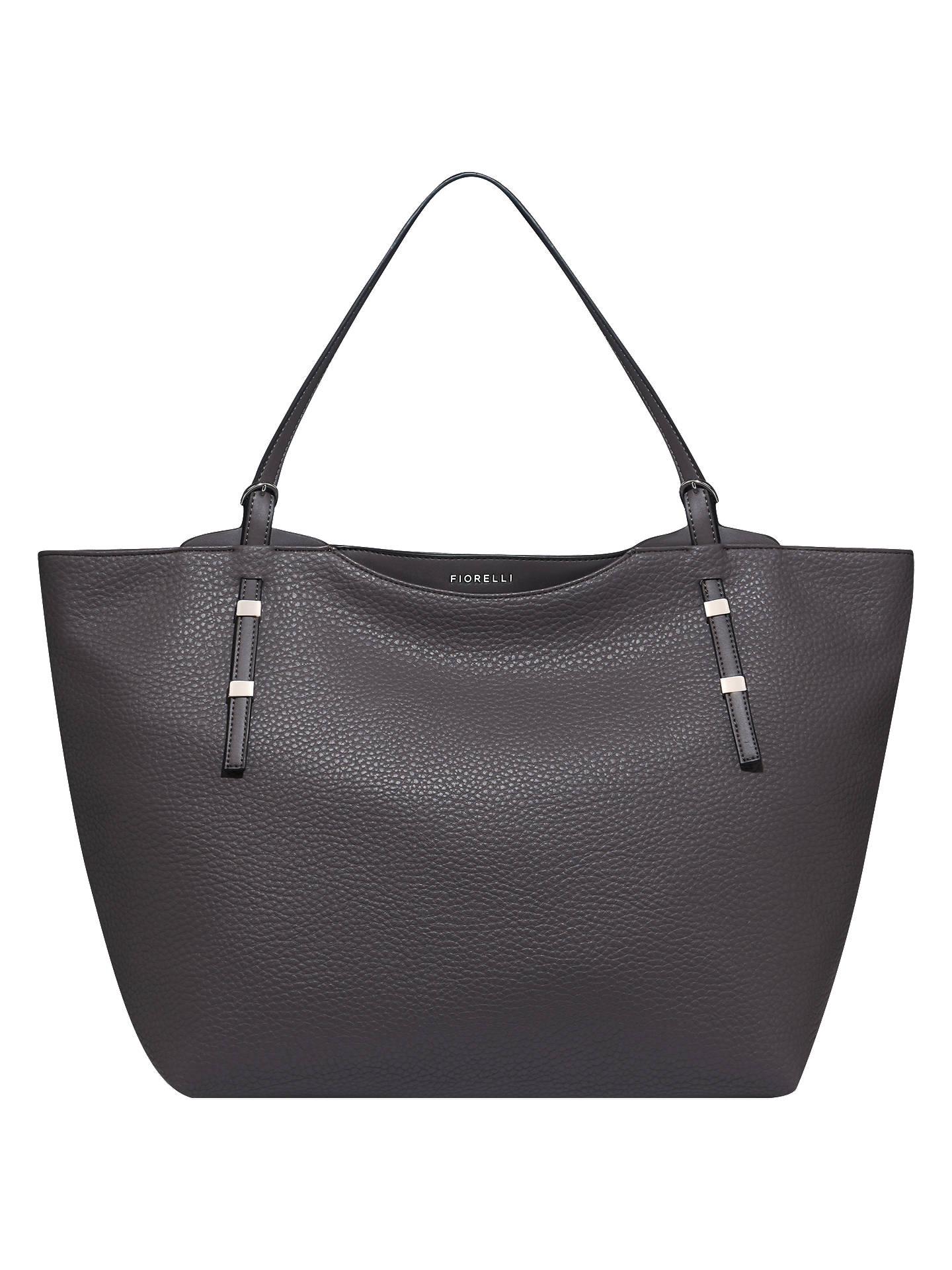 6dd340d53af9 Buy Fiorelli Soho Tote Bag, Cobble Grey Online at johnlewis.com ...