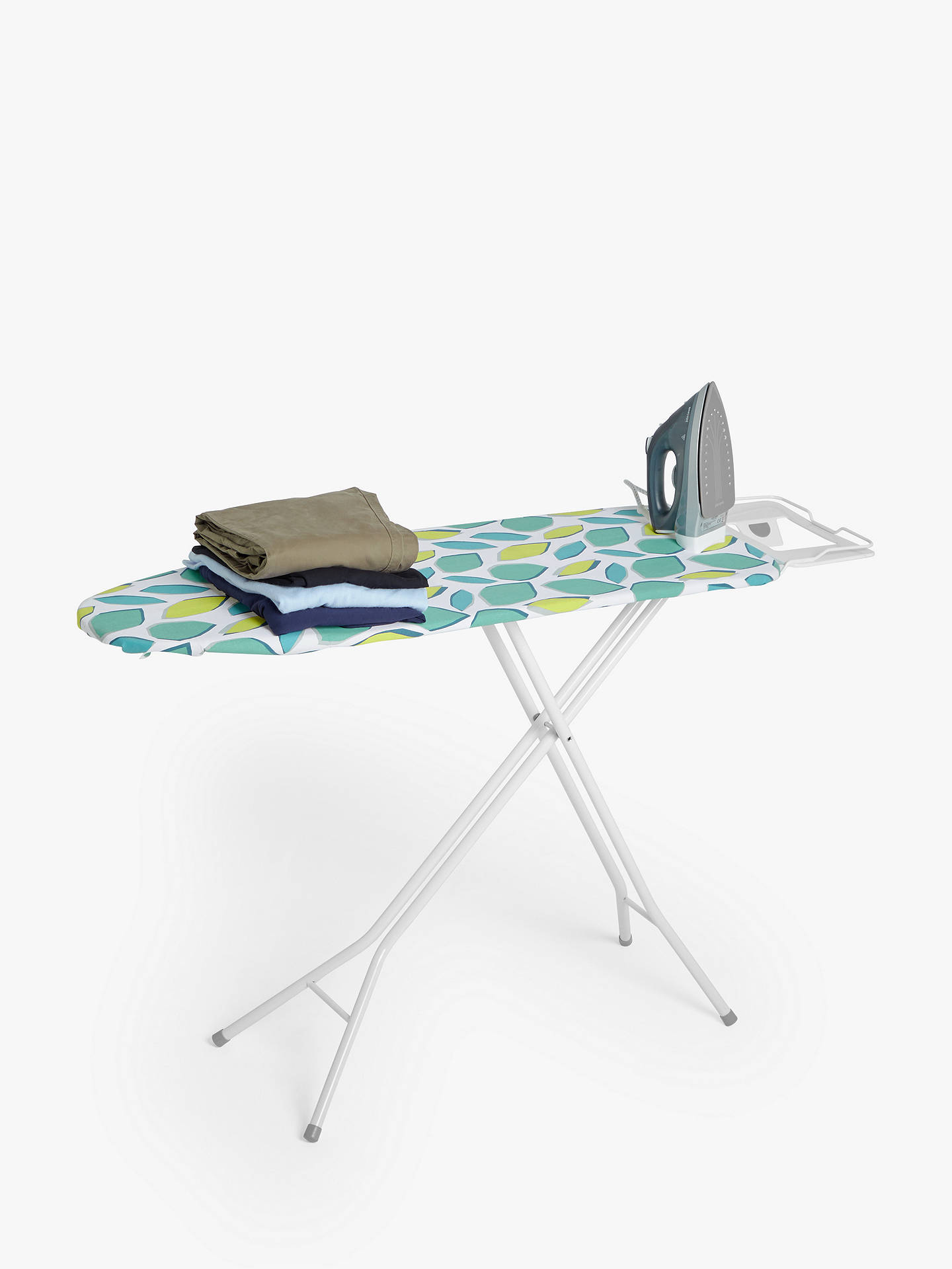 Buy House by John Lewis Ironing Board, L122 x W38cm Online at johnlewis.com