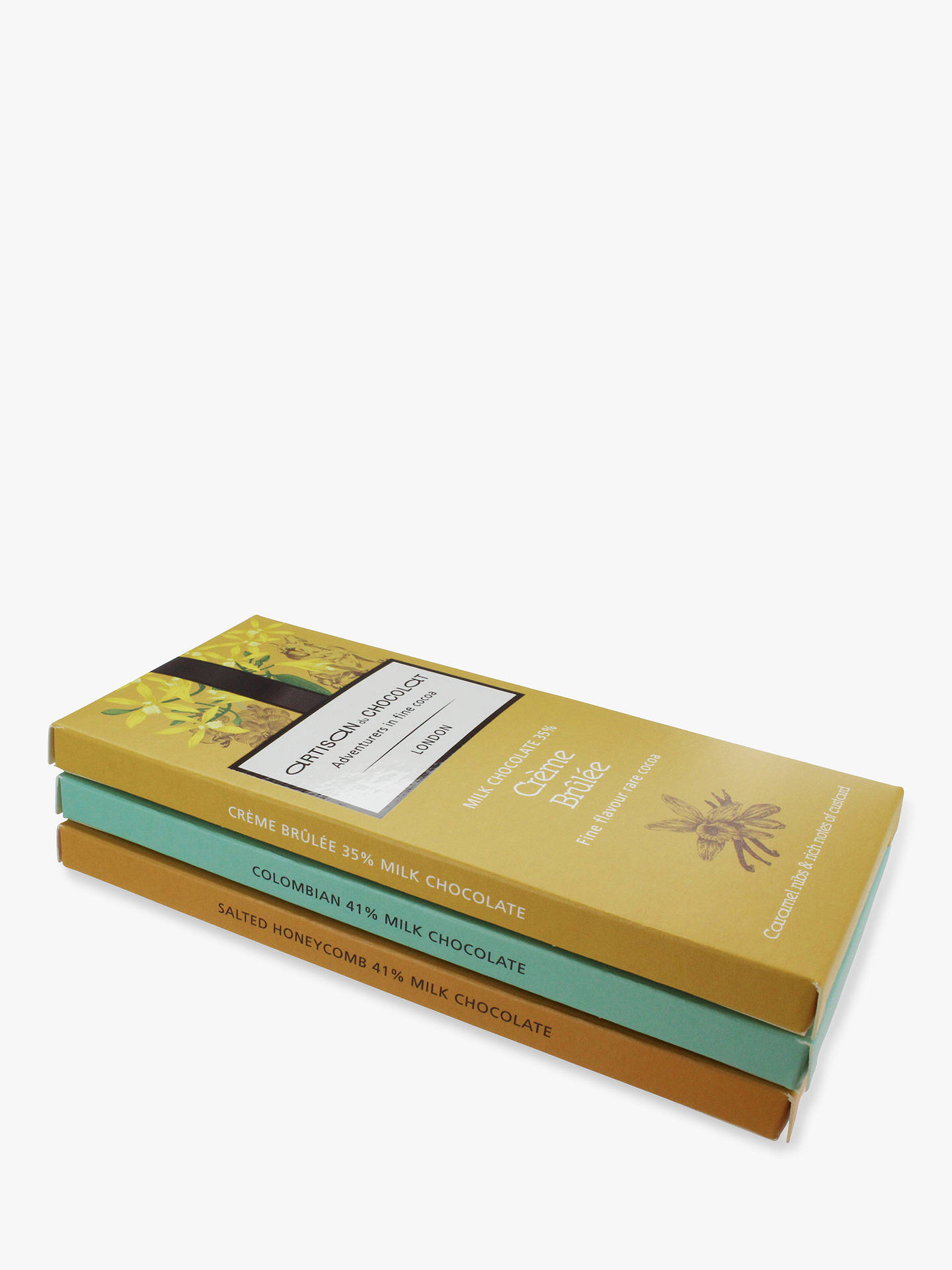 BuyArtisan du Chocolat Milk Chocolate 3 Bars Gift Pack, 135g Online at johnlewis.com