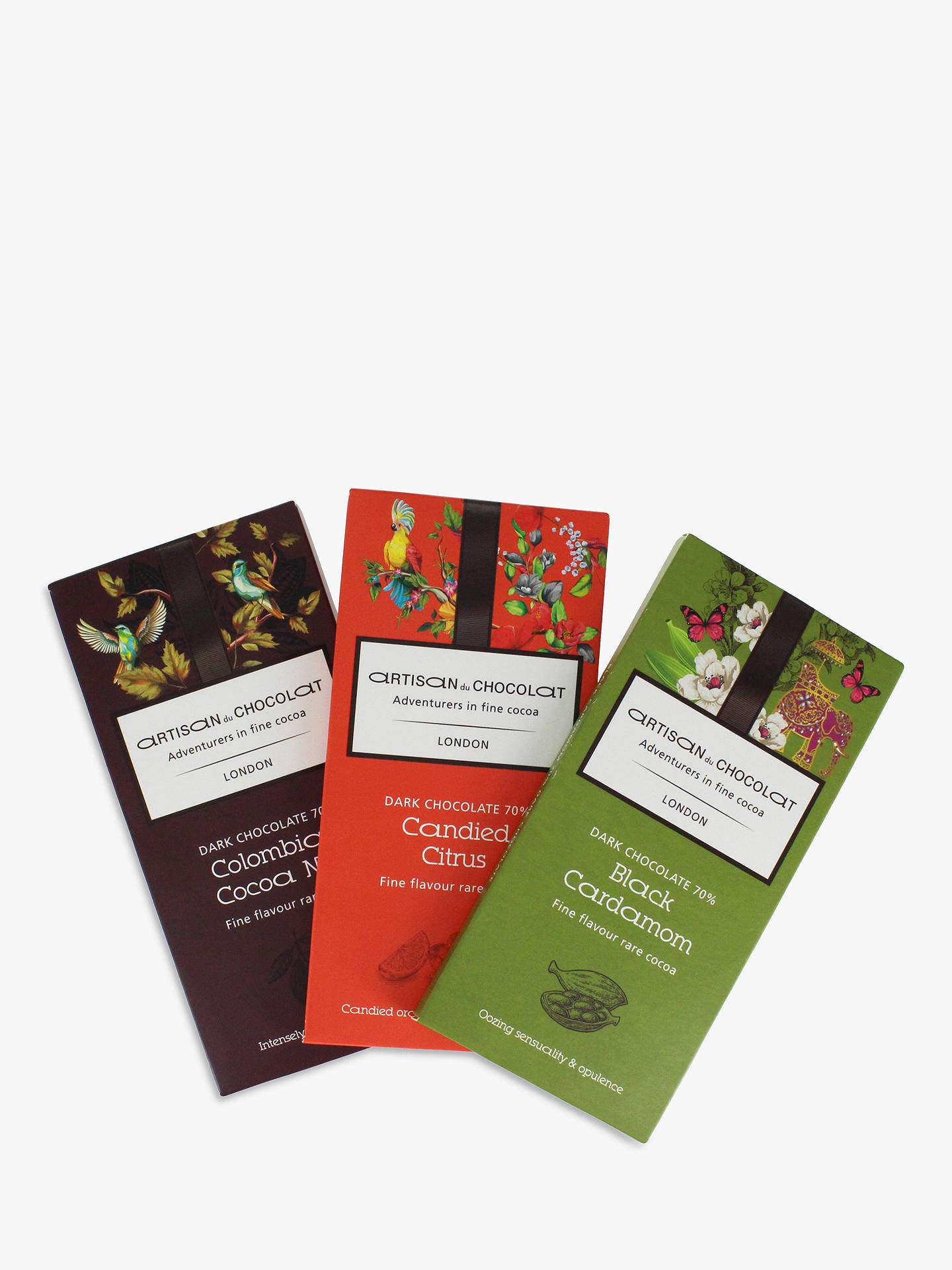 Buy Artisan du Chocolat Dark Chocolate 3 Bars Gift Pack, 135g Online at johnlewis.com