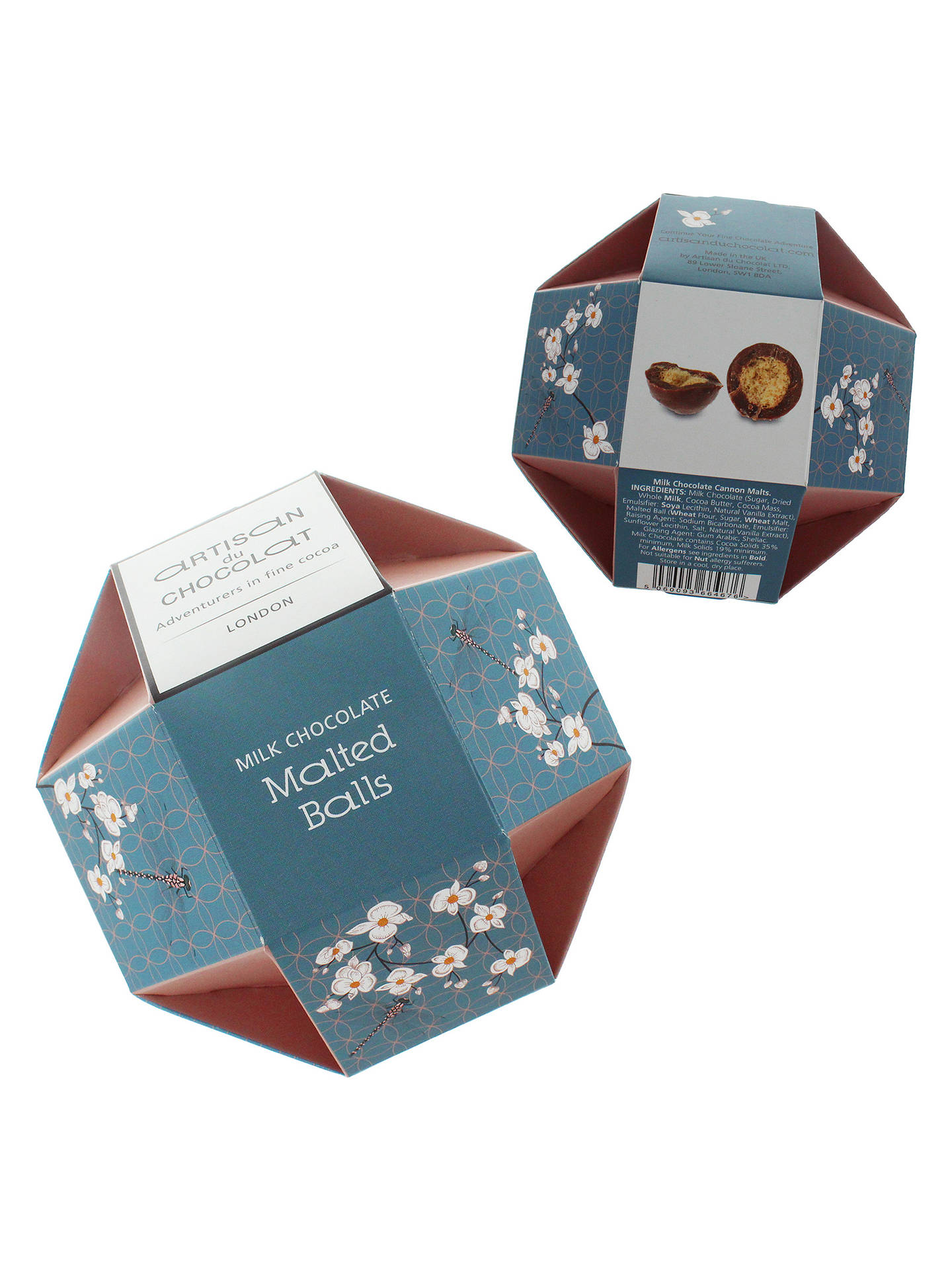 BuyArtisan du Chocolat Milk Chocolate Malted Balls, 150g Online at johnlewis.com