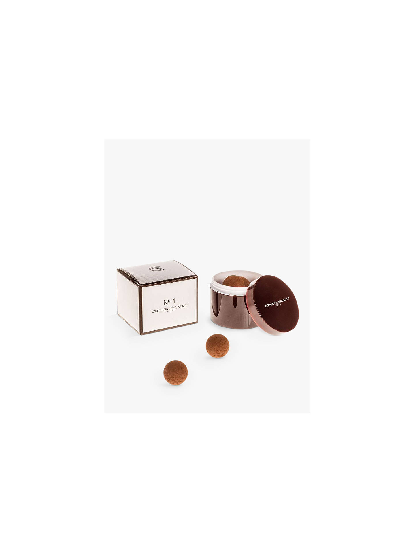 BuyArtisan du Chocolat No.1 Dark Chocolate Liquid Salted Caramels, Original, 125g Online at johnlewis.com