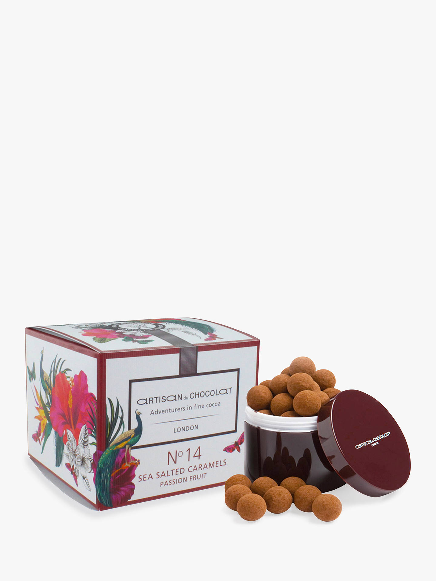 Buy Artisan du Chocolat No.14 Dark Chocolate Liquid Salted Caramels, Passion Fruit, 125g Online at johnlewis.com