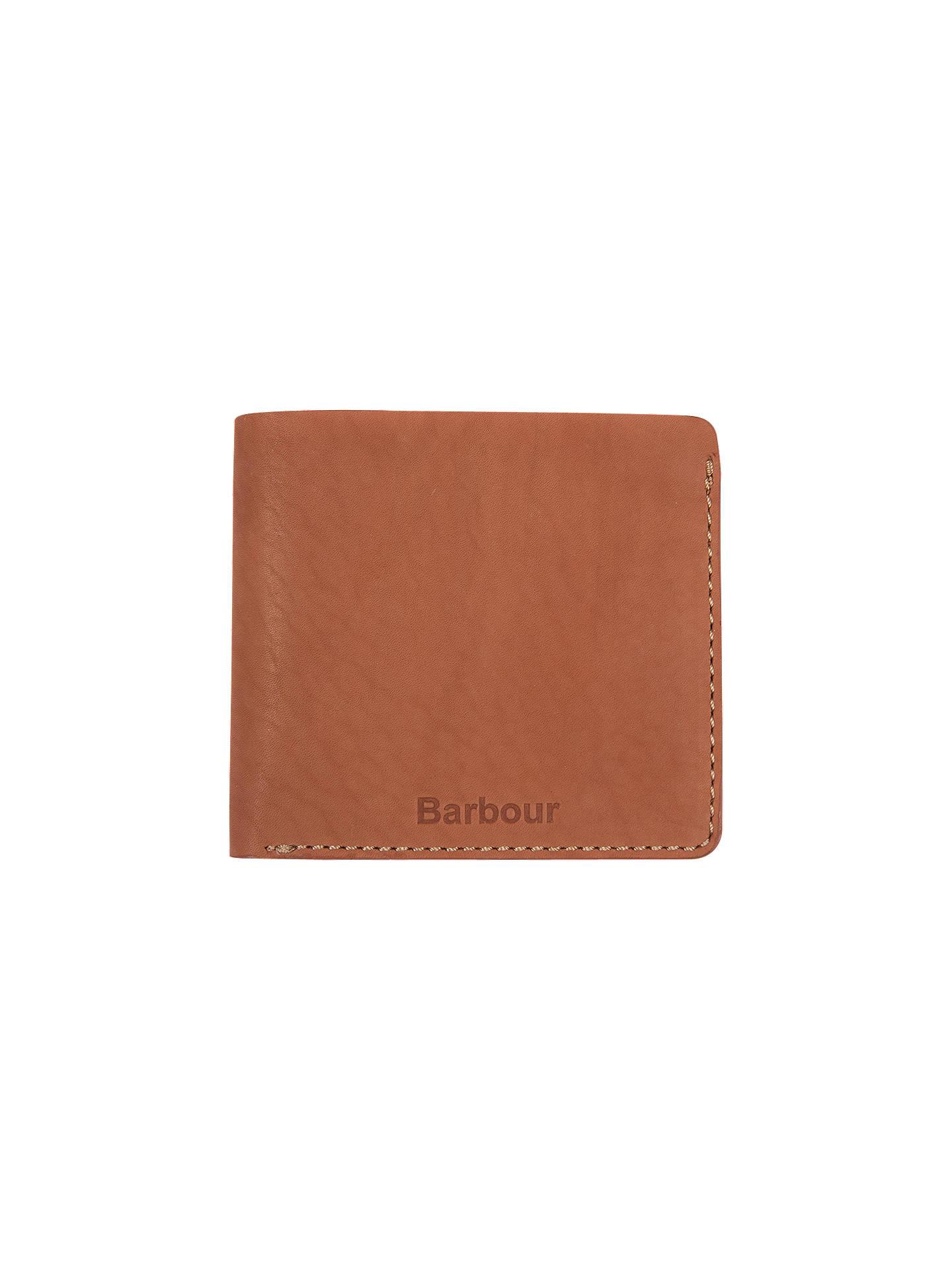 Barbour Leather Artisan Wallet, Tan, Tan