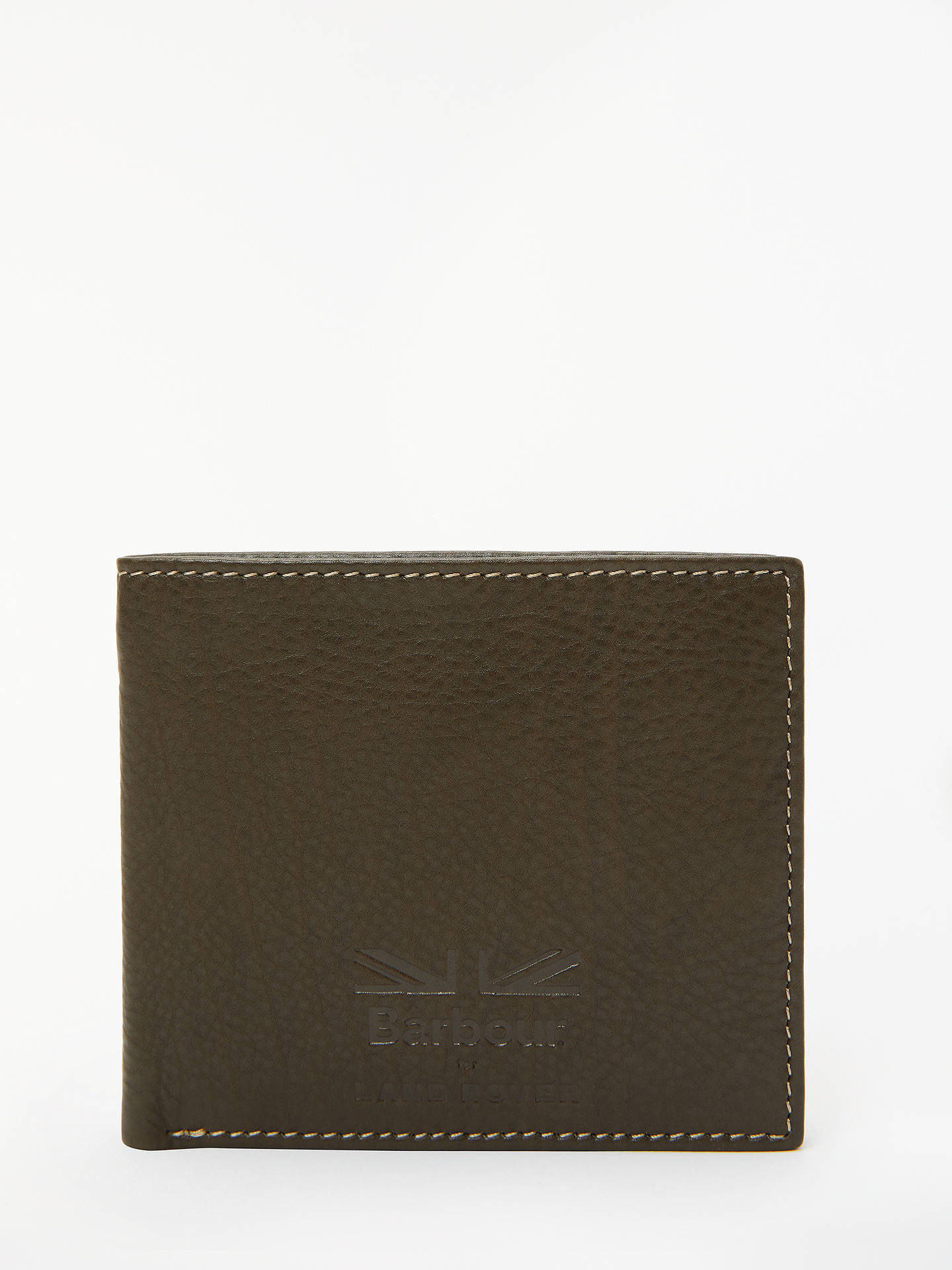 BuyBarbour Land Rover Defender Leather Wallet, Brown Online at johnlewis.com