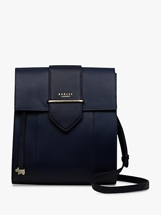 Radley Palace Street Leather Large Flapover Cross Body Bag