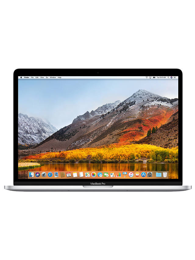 "Buy 2018 Apple MacBook Pro 15"" Touch Bar, Intel Core i7, 16GB RAM, 512GB SSD, Radeon Pro 560X, Silver Online at johnlewis.com"