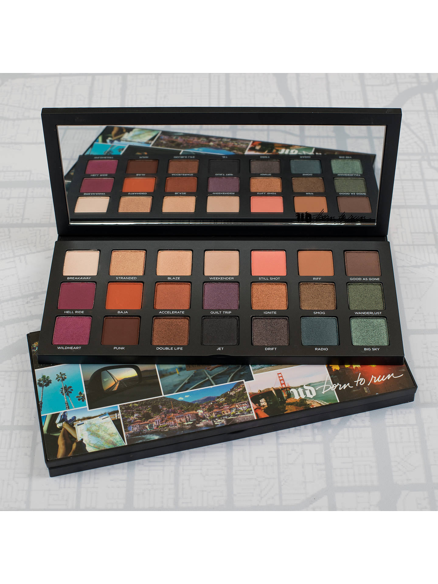 BuyUrban Decay Born To Run Eyeshadow Palette, Multi Online at johnlewis.com