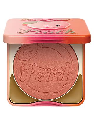 Too Faced Papa Don't Peach Blusher