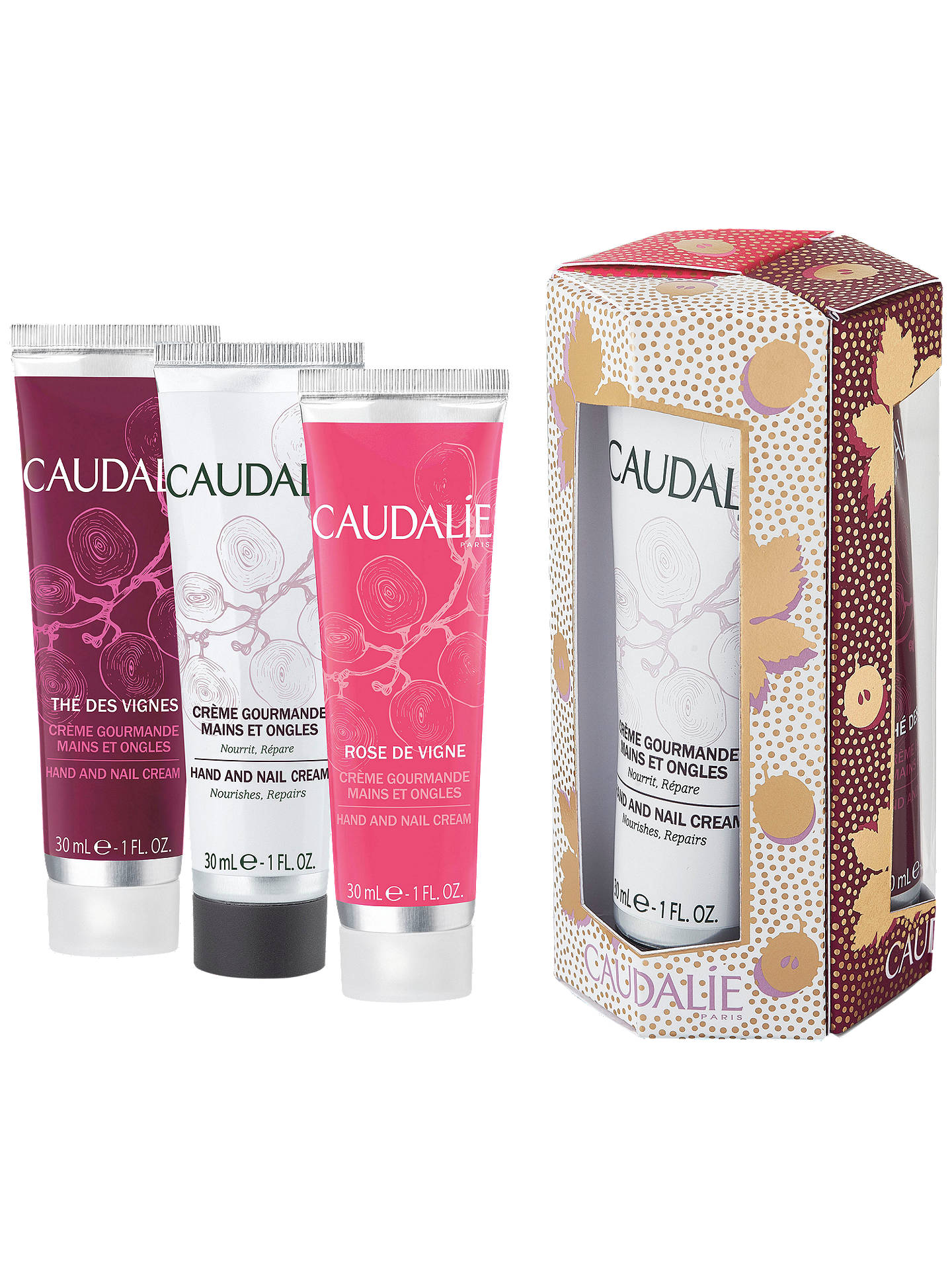 Buy Caudalie Hand Cream Trio Bodycare Gift Set Online at johnlewis.com