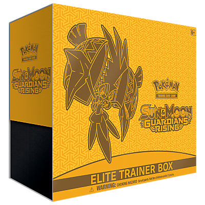 Image of Pokémon Sun and Moon Guardians Rising Elite Trainer Box