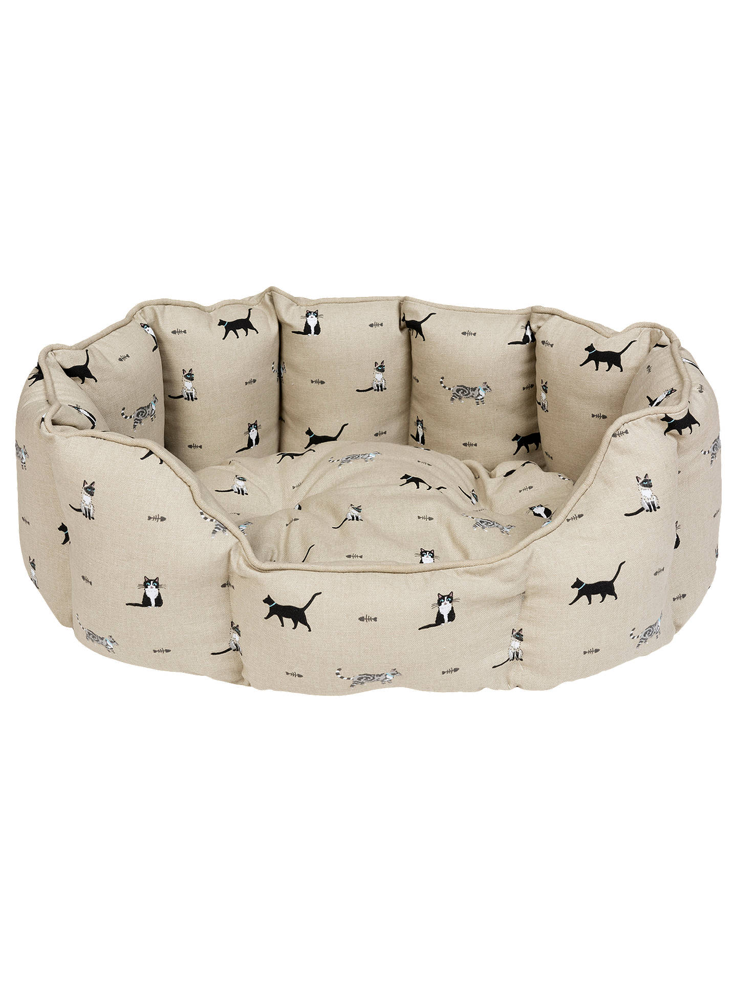 Buy Sophie Allport Purrfect Cat Bed, Small Online at johnlewis.com