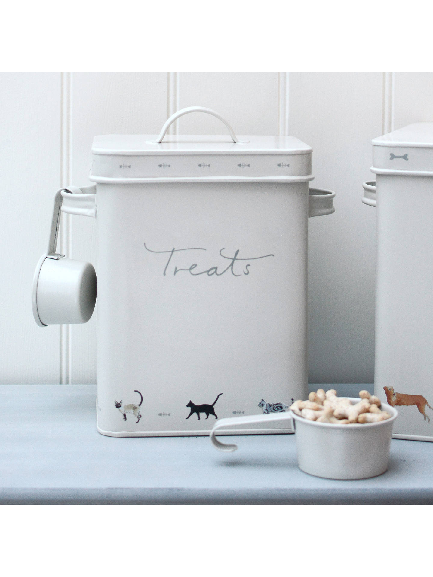 BuySophie Allport Purrfect Pet Treats Tin Online at johnlewis.com